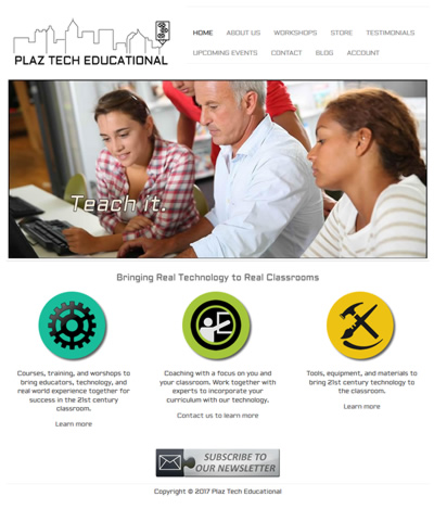 Plaz Tech's Website